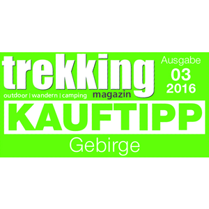 Trekking - Kauftipp Gebirge 2016