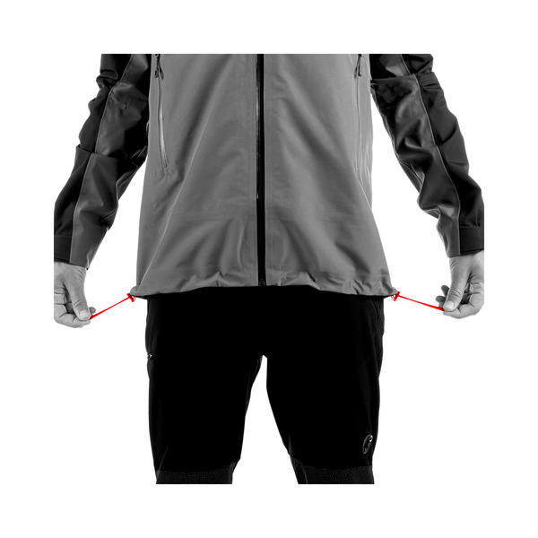 Mammut Hardshell Jackets - Crater HS Hooded Jacket Men