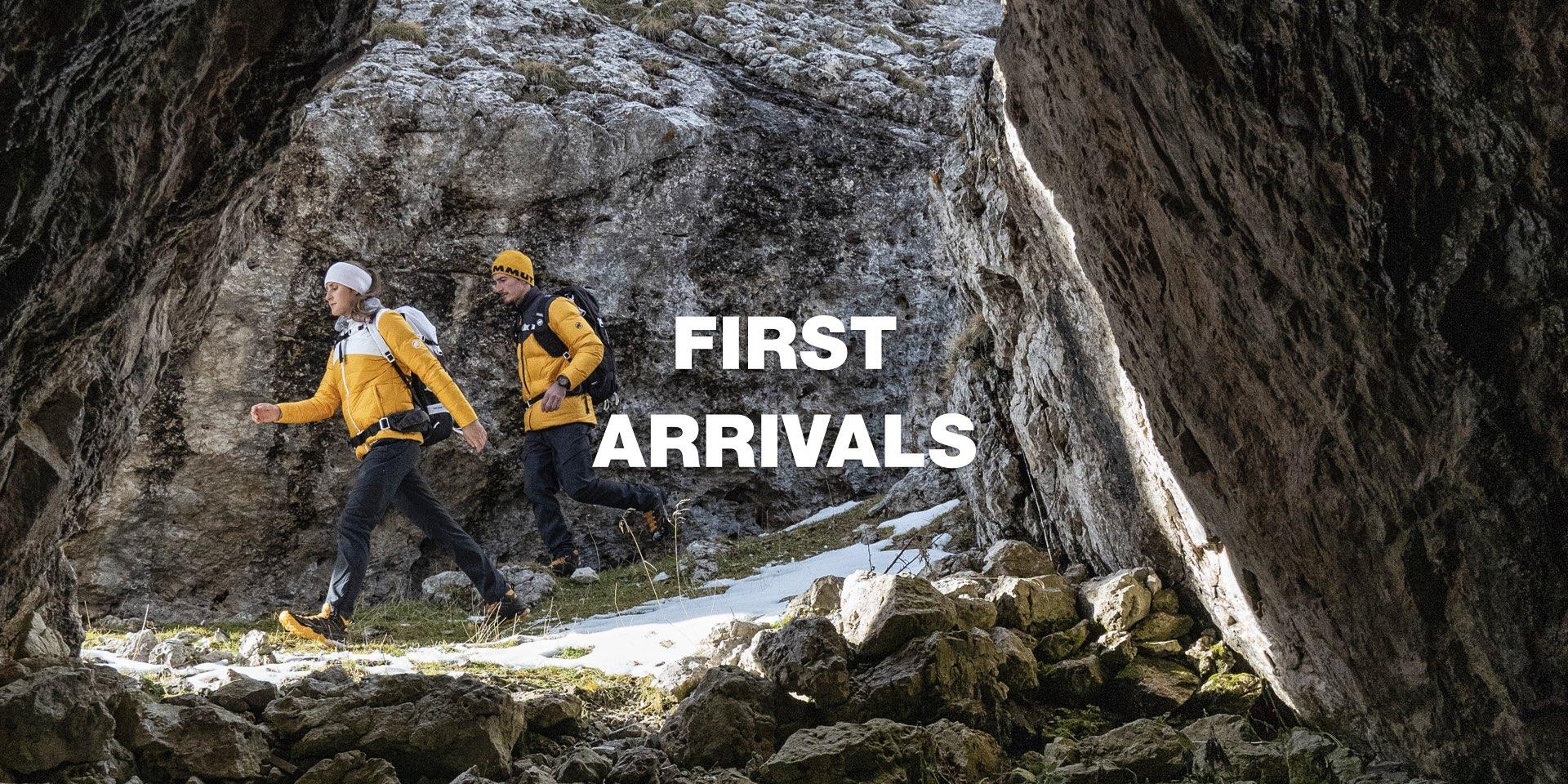 First Arrivals