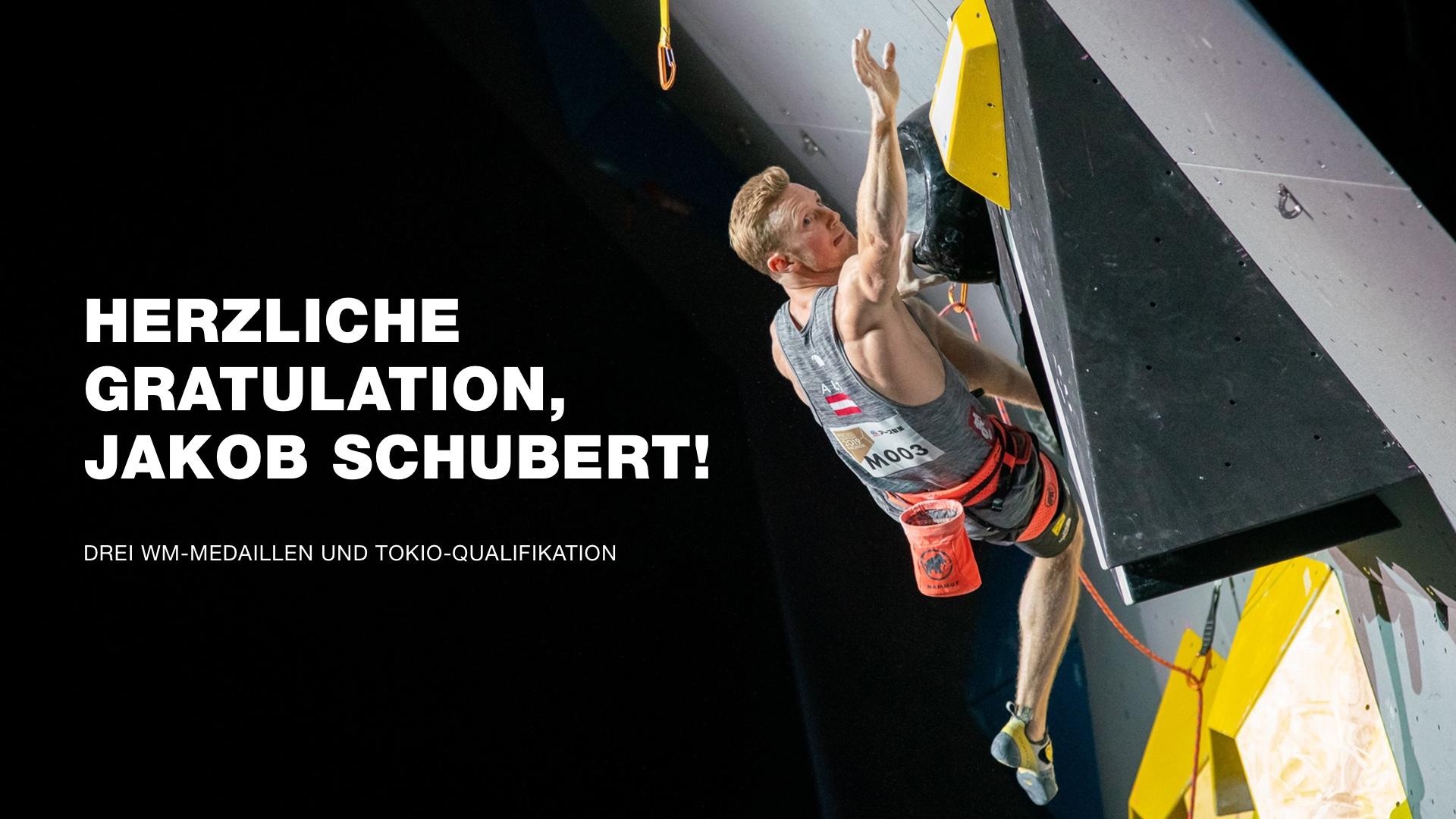 IFSC Climbing World Championships Mammut Pro Athlet Jakob Schubert