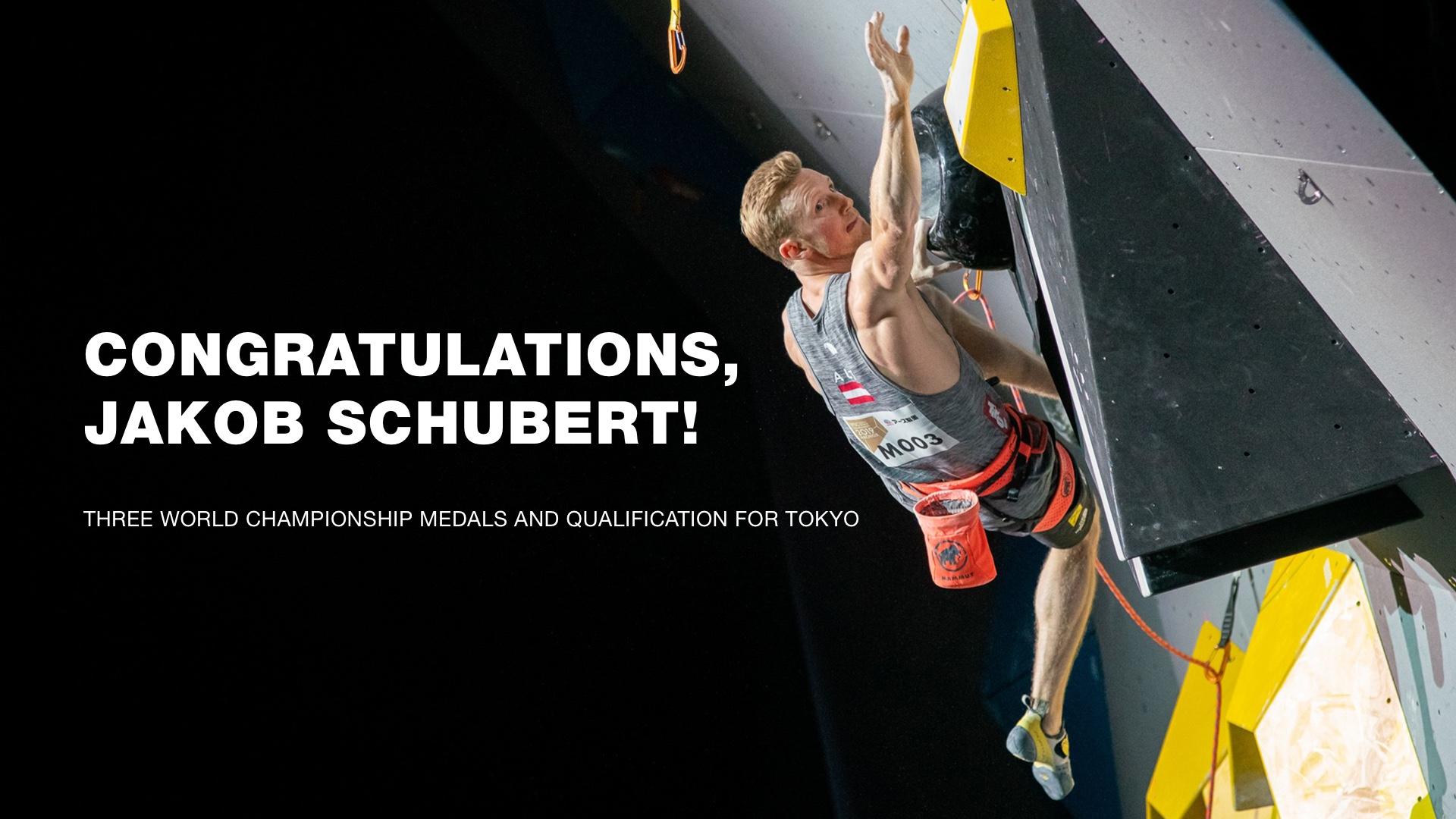 IFSC Climbing World Championships Mammut Athlete Jakob Schubert