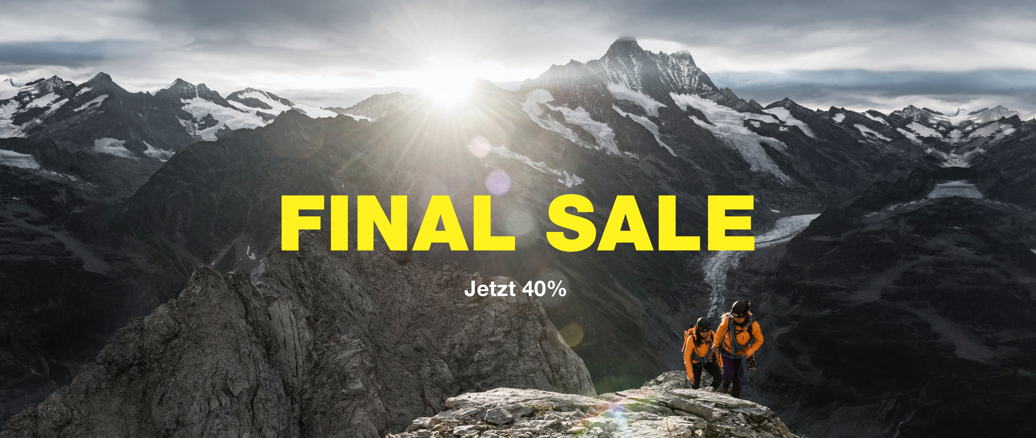 Mammut Final Sale der Sommer-Kollektion