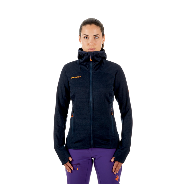 Mammut Clean Production - Eiswand Guide ML Hooded Jacket Women