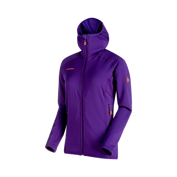 Mammut Midlayer Jackets - Eiswand Advanced ML Hooded Jacket Women