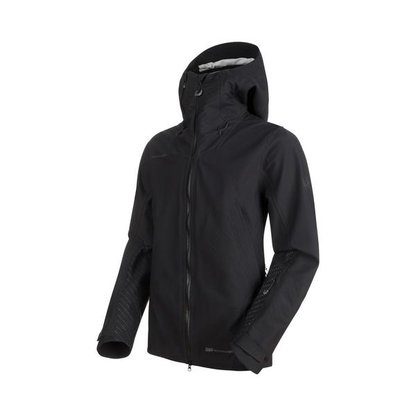 Mammut Hardshell-Jacken - Alvier HS Flex Hooded Jacket Men