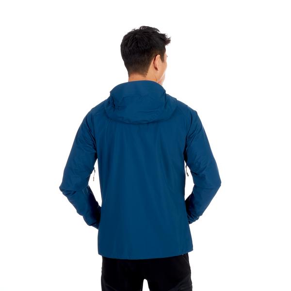 Mammut Hardshell Jackets - Masao Light HS Hooded Jacket Men