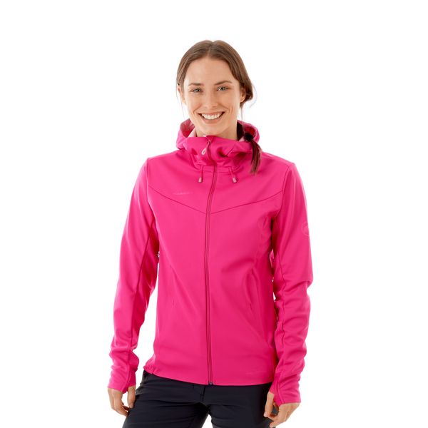 Mammut Vestes Softshell - Ultimate V SO Hooded Jacket Women