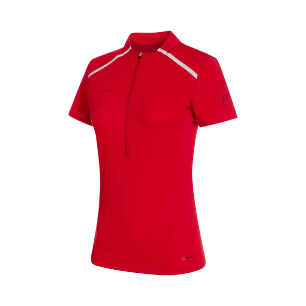 Mammut T-Shirts - Atacazo Light Zip T-Shirt Women