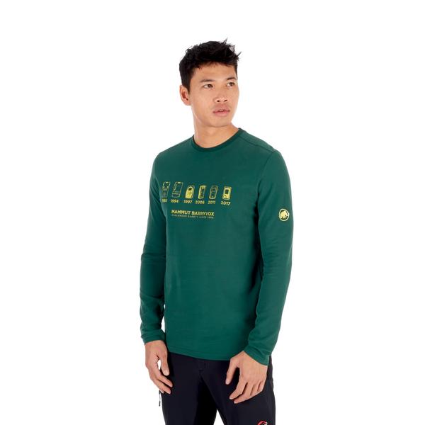 Mammut T-shirts manches longues - Le Mur Longsleeve Men