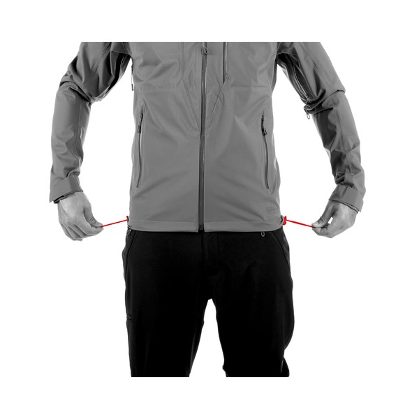Mammut Hardshell-Jacken - Kento HS Hooded Jacket Men
