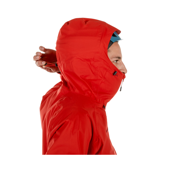 Mammut Hardshell Jackets - Kento HS Hooded Jacket Men