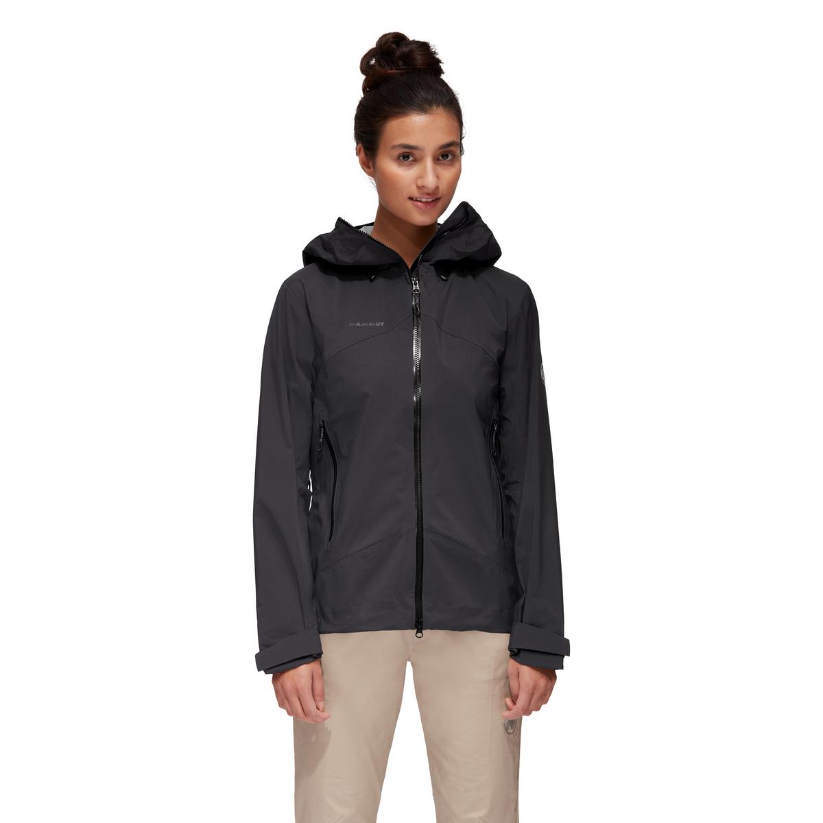 Mammut Womens Kento Hooded Hardshell jacket