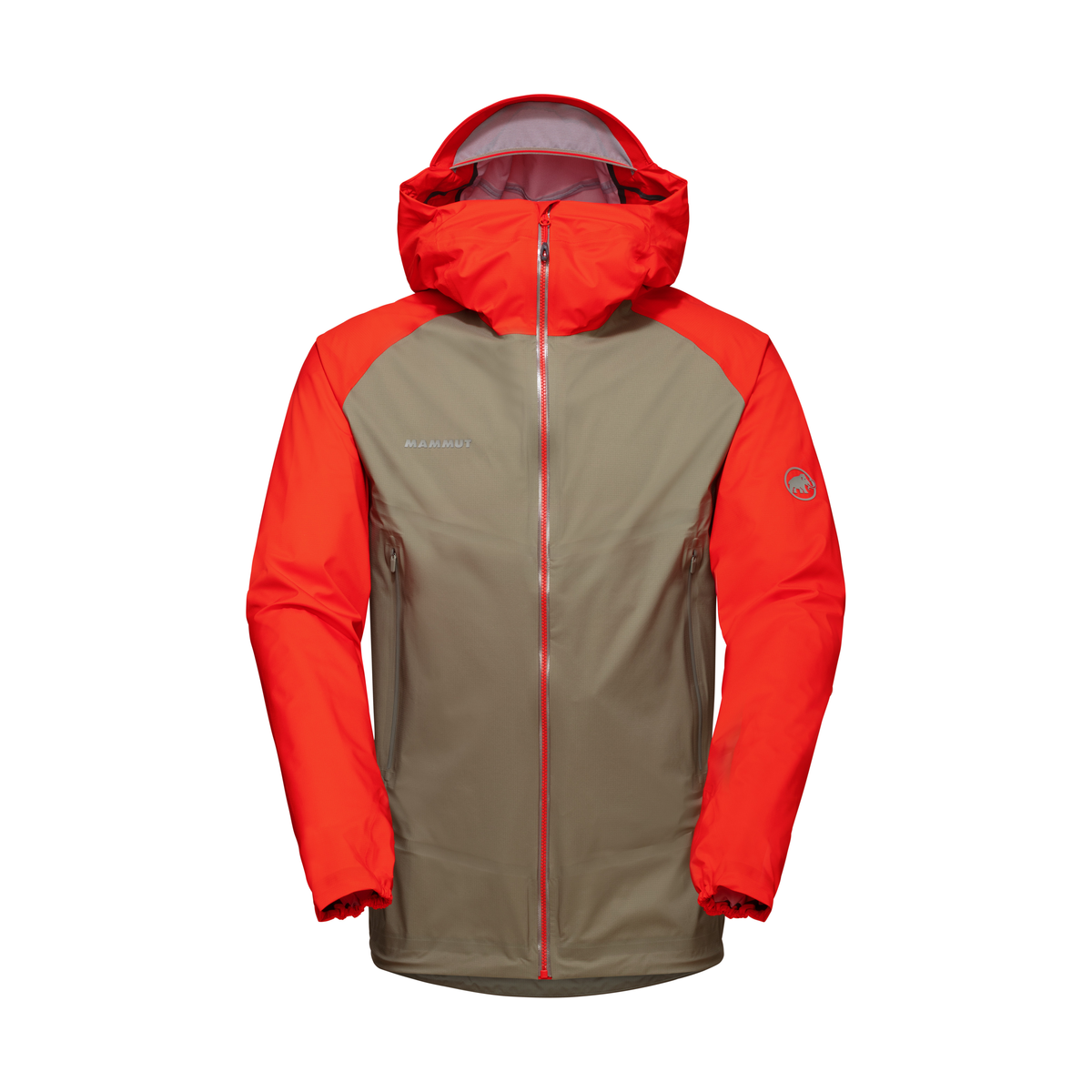 Mammut Mens Masao Hooded Hardshell Jacket