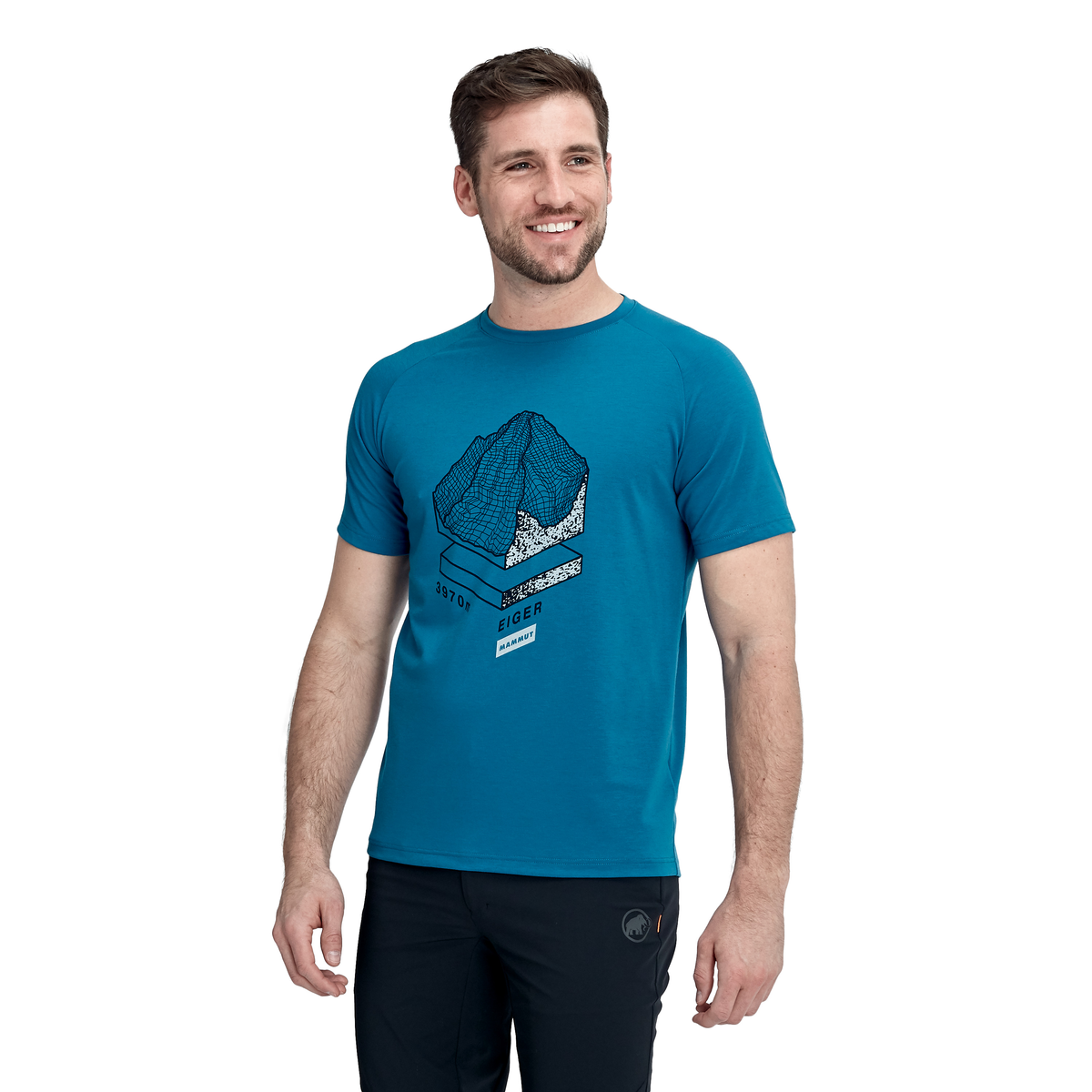 Mammut Mountain Men T-Shirt blue