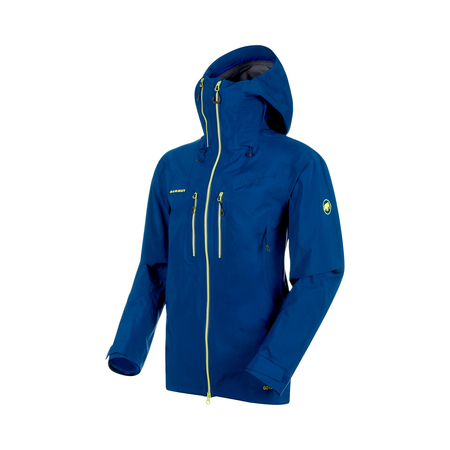 Mammut Hardshell Jackets - Alvier HS Hooded Jacket Men