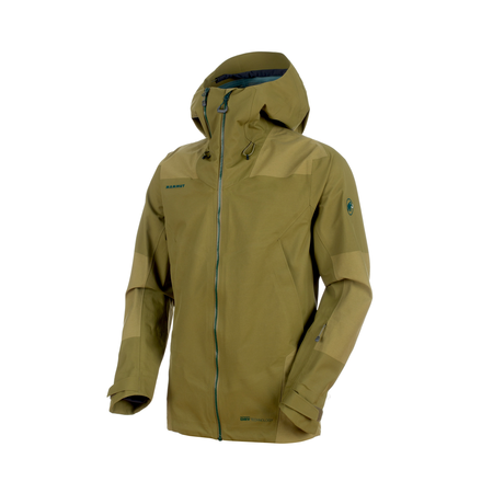 Mammut Hardshell-Jacken - Alvier Armor HS Hooded Jacket Men