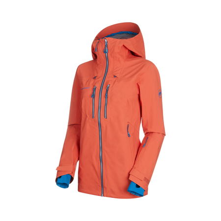 Mammut Vestes de ski - Alvier HS Hooded Jacket Women