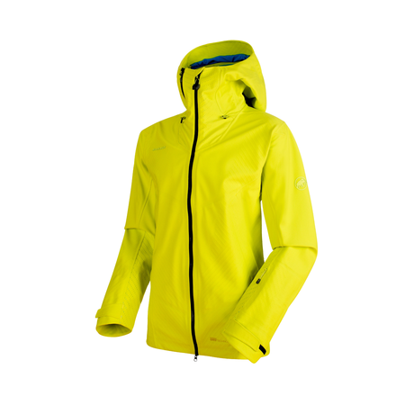 Mammut Hardshell Jackets - Alvier HS Flex Hooded Jacket Men