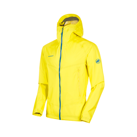 Mammut Hardshell Jackets - Masao Light HS Hooded Jacket Men