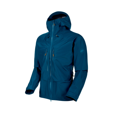 Mammut Hardshell Jackets - Teton HS Hooded Jacket Men