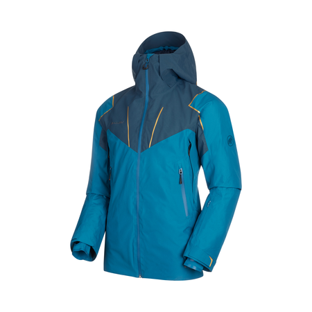 Mammut Hardshell-Jacken - Scalottas HS Thermo Hooded Jacket Men