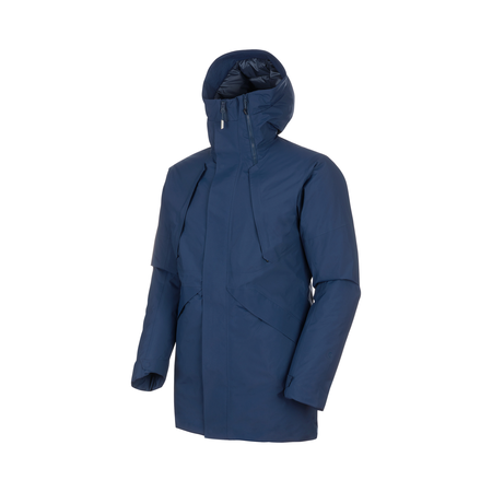 Mammut Hardshell Jackets - ZUN HS Thermo Hooded Parka Men