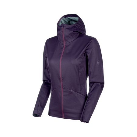 Mammut We Care - Ultimate V Tour SO Hooded Jacket Women