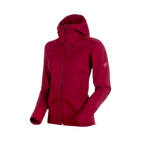 Mammut Softshell-Jacken - Ultimate V SO Hooded Jacket Women