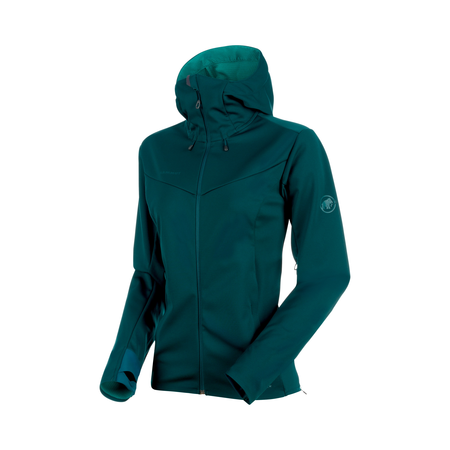 Mammut Softshell Jackets - Ultimate V SO Hooded Jacket Women