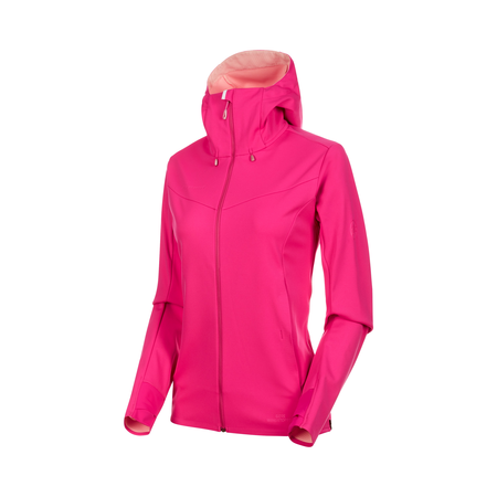 Mammut Softshell-Jacken - Ultimate V SO Hooded Jacket Women