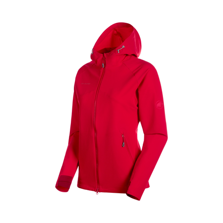 Mammut Softshell-Jacken - Macun SO Hooded Jacket Women