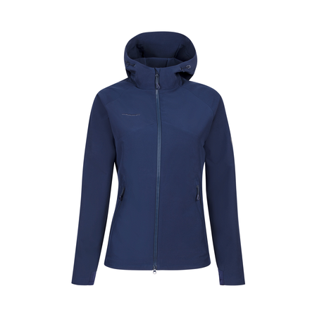Mammut Softshell Jackets - Macun SO Hooded Jacket Women