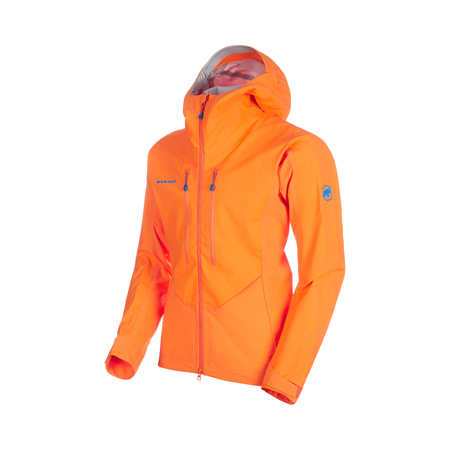 Mammut Softshell Jackets - Eisfeld Guide SO Hooded Jacket Men