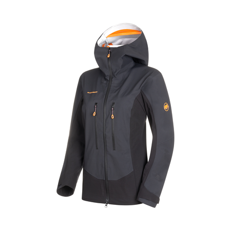 Mammut Softshell Jackets - Eisfeld Guide SO Hooded Jacket Women