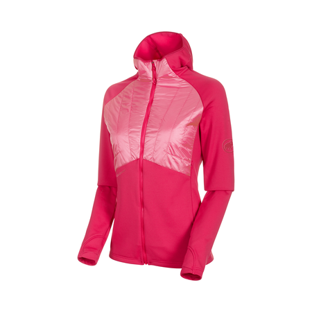 Mammut We Care - Aconcagua Light Hybrid ML Hooded Jacket Women