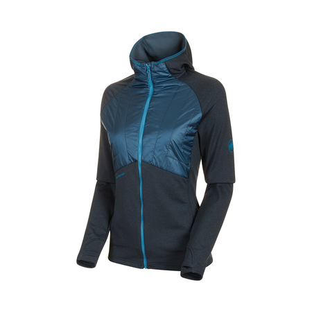 Mammut Couches intermédiaires - Aconcagua Light Hybrid ML Hooded Jacket Women