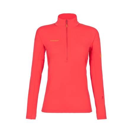 Mammut T-shirts manches longues - Moench Advanced Half Zip Longsleeve Women