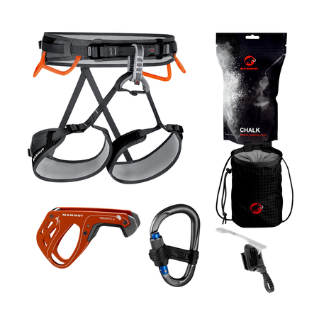Mammut Harnesses - Ophir 4 Slide Climbing Package
