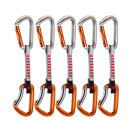 Mammut Mousquetons & sets de dégaines - 5er Pack Wall Key Lock Express Sets