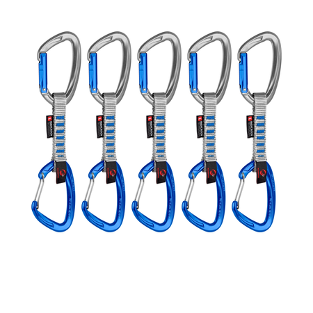 Mammut Carabiners & Express Sets - 5er Pack Crag Indicator Wire Express Sets