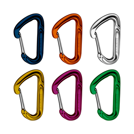 Mammut Carabiners & Express Sets - Wall Light Sixpack