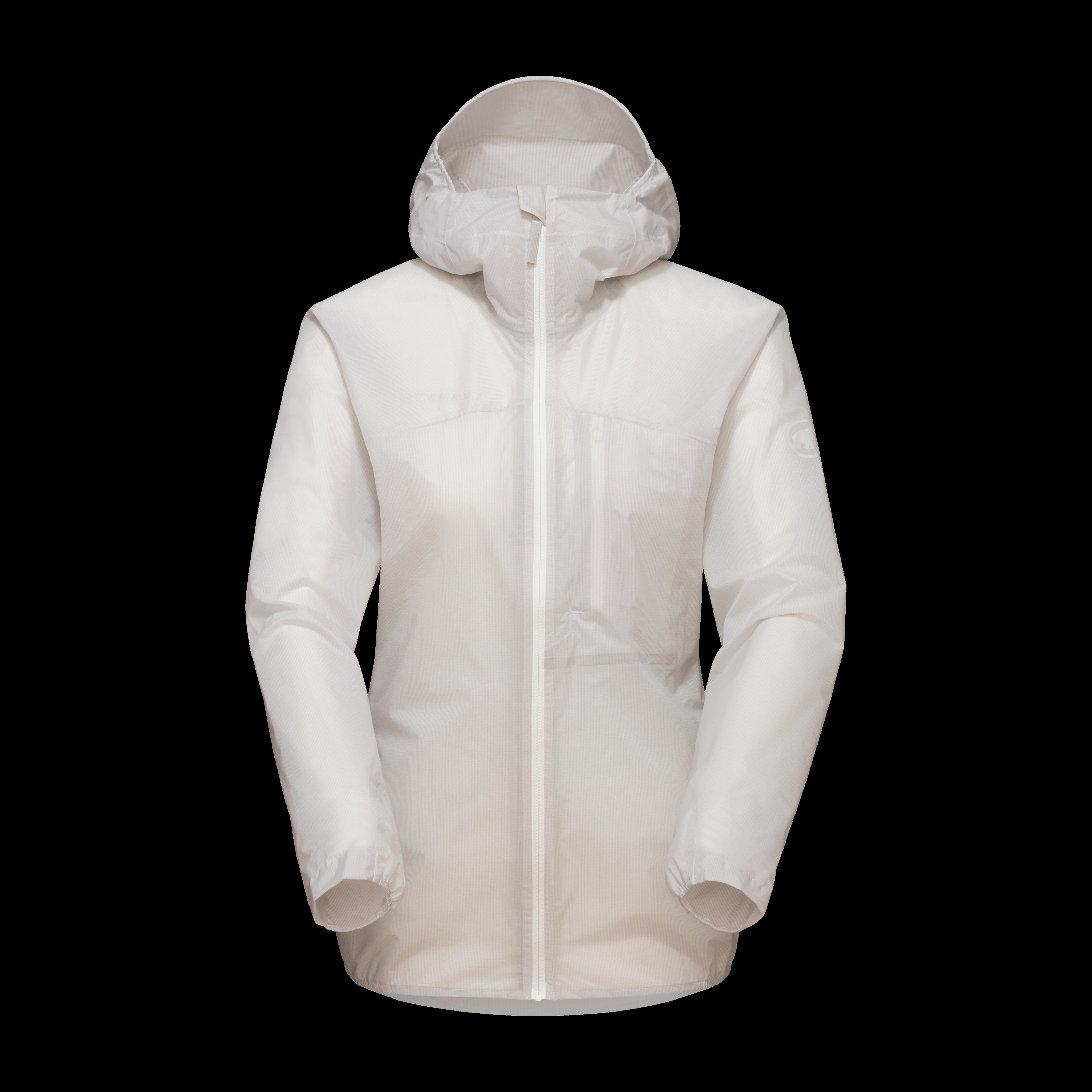 Kento Light HS Hooded Jacket Women - bright white, M thumbnail