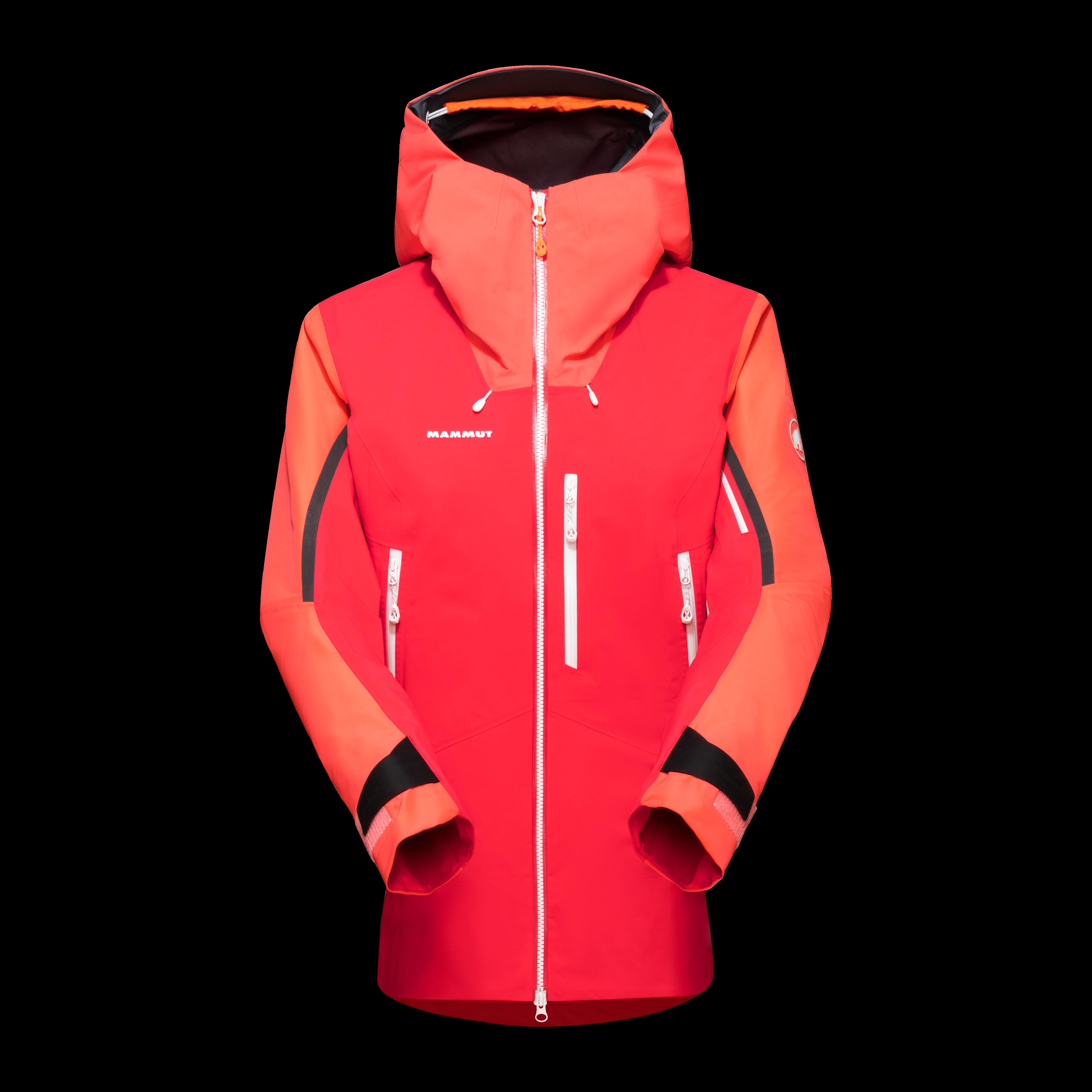 Nordwand Pro HS Hooded Jacket Women - azalea-barberry, S thumbnail