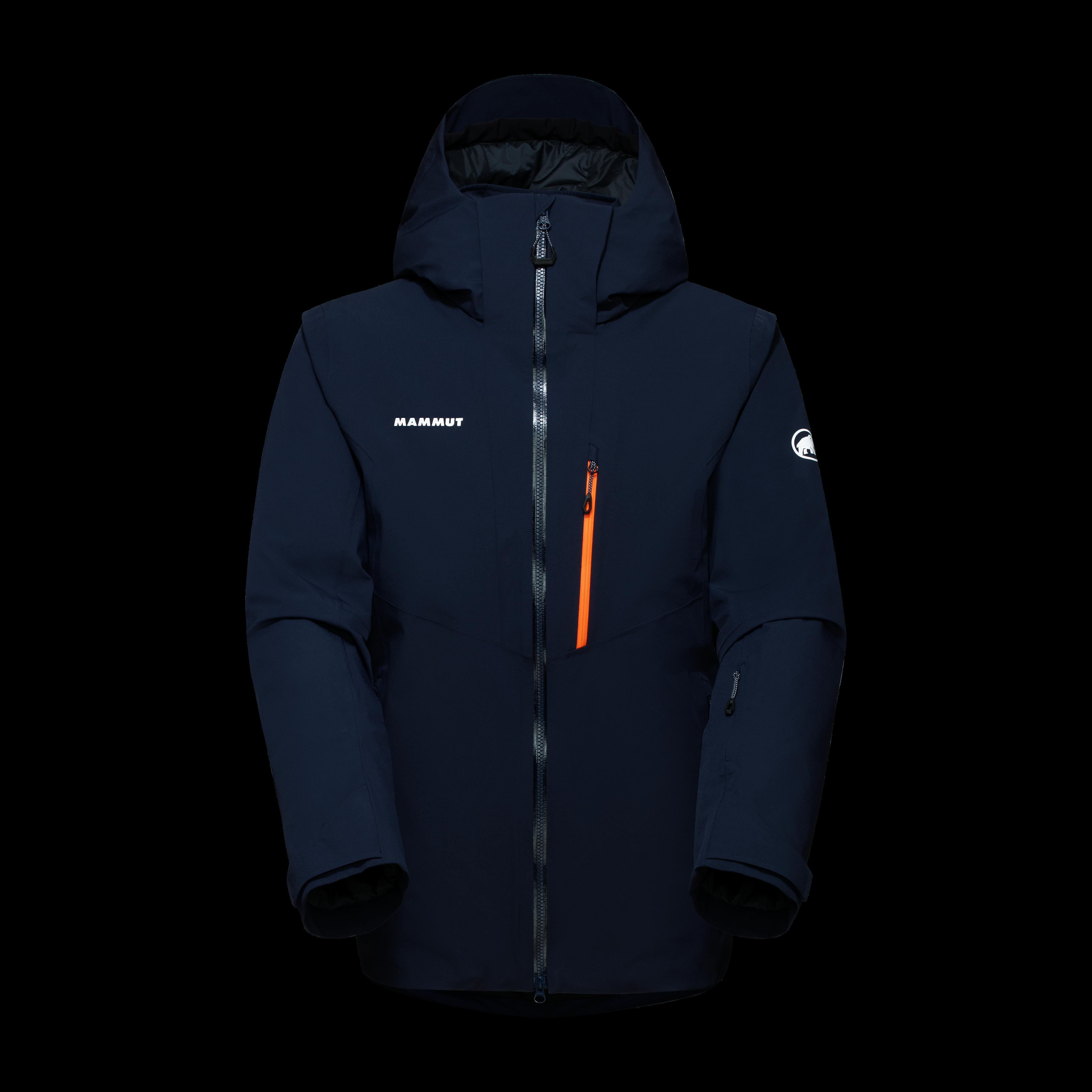 Stoney HS Thermo Jacket Men - marine-vibrant orange, XXL thumbnail