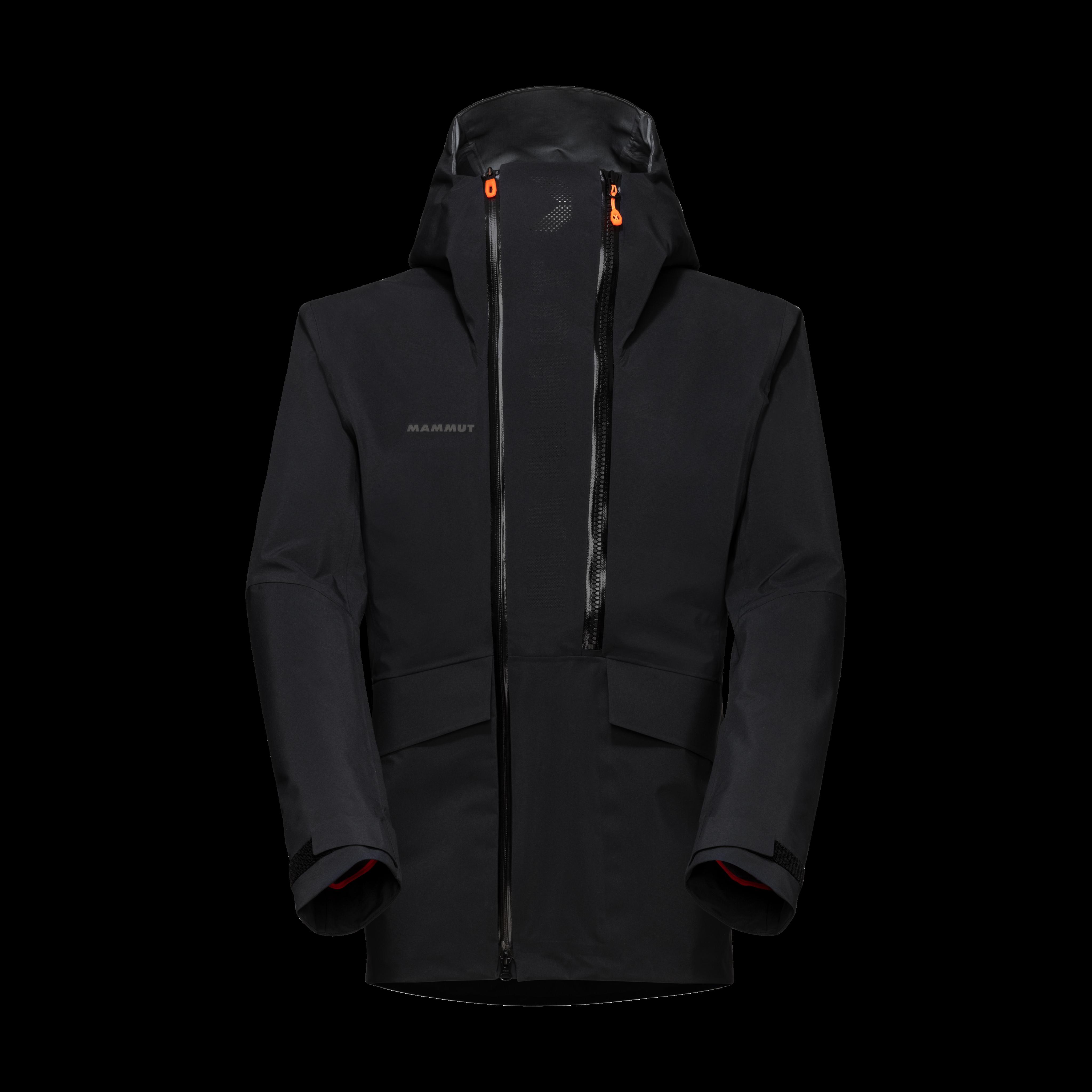 THE HS Hooded Jacket Men - black, L thumbnail