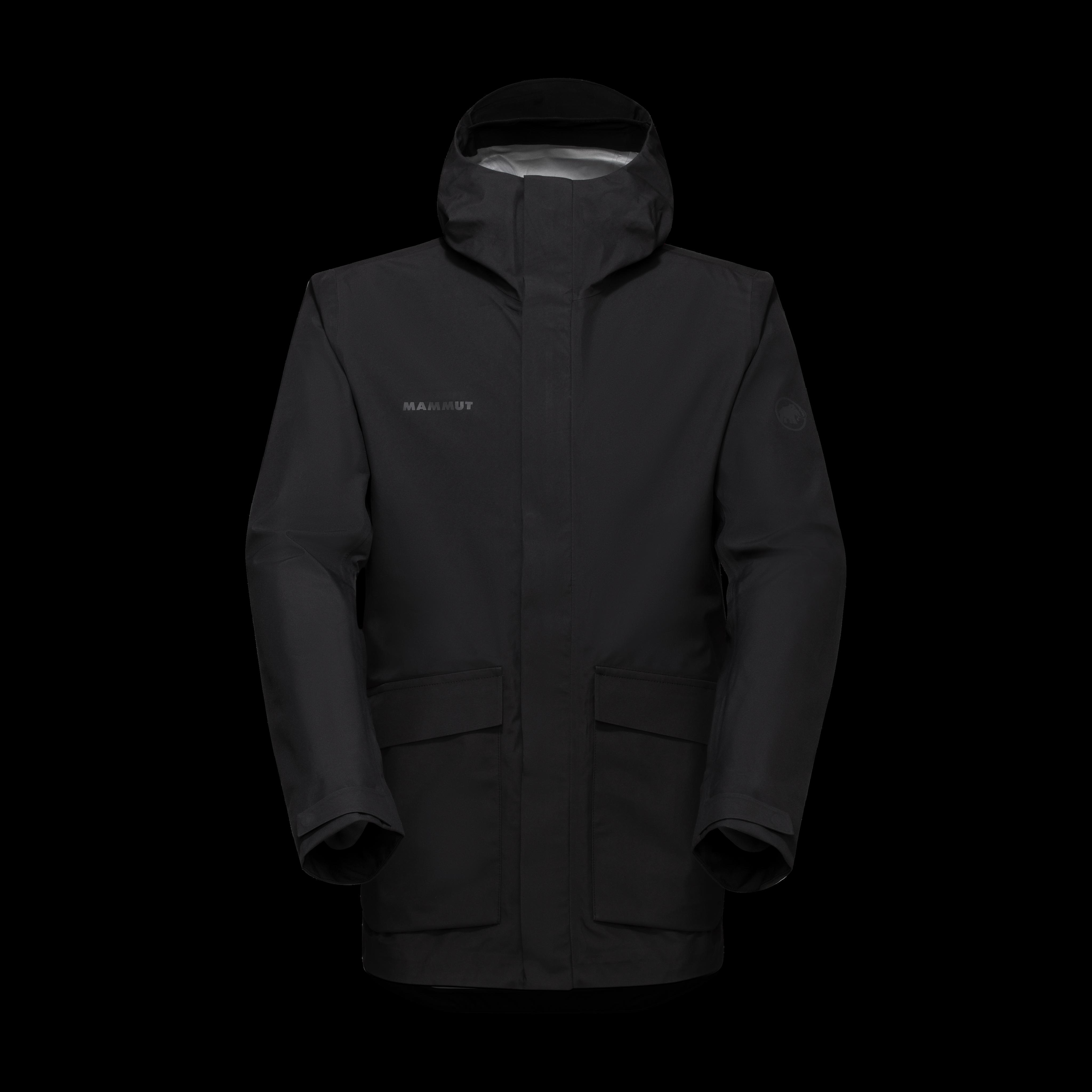 Mammut 3L HS Hooded Jacket Men - black, L thumbnail