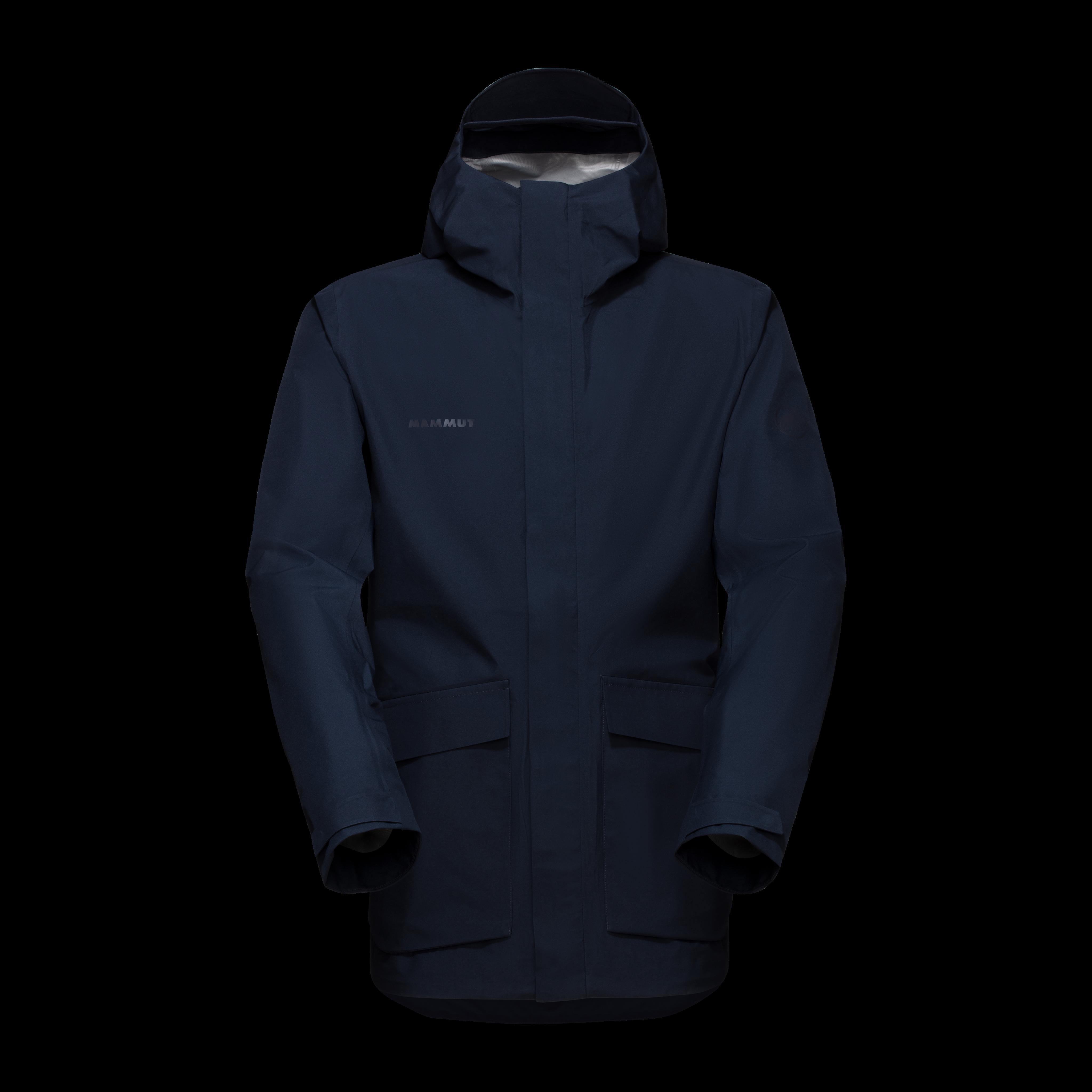 Mammut 3L HS Hooded Jacket Men - L, marine thumbnail