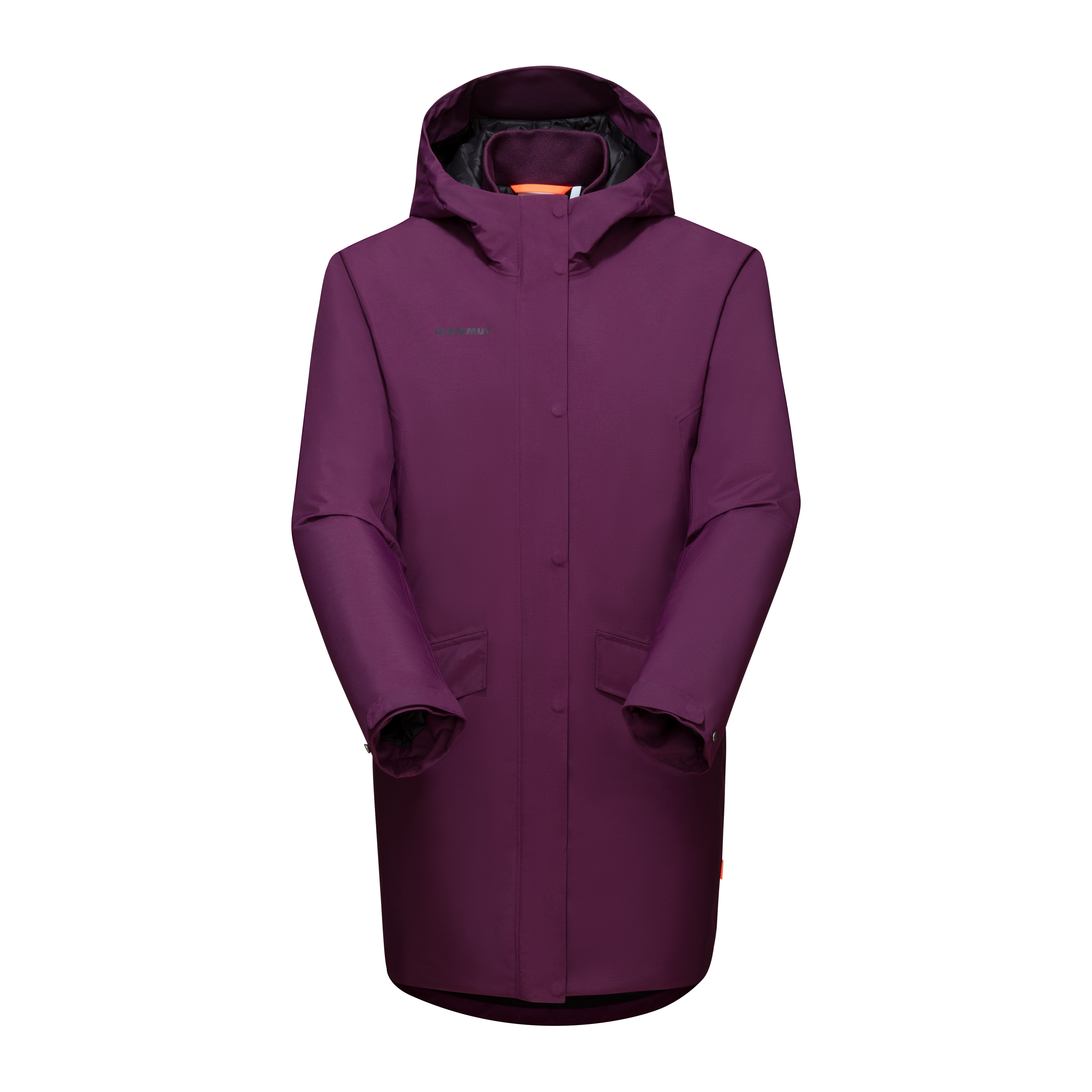 Chamuera HS Thermo Hooded Parka Women - grape, S thumbnail