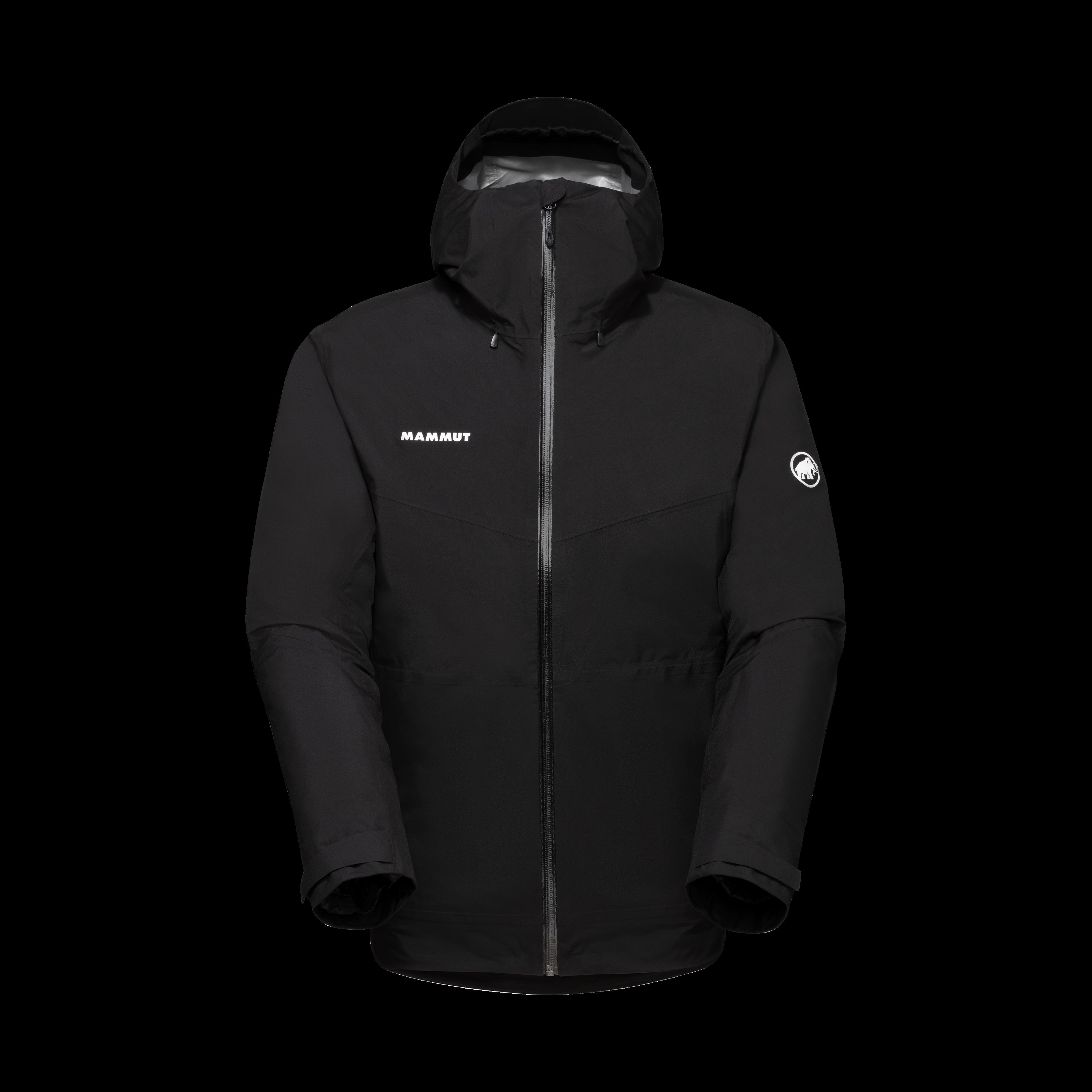 Convey 3 in 1 HS Hooded Jacket Men - black-black, M thumbnail