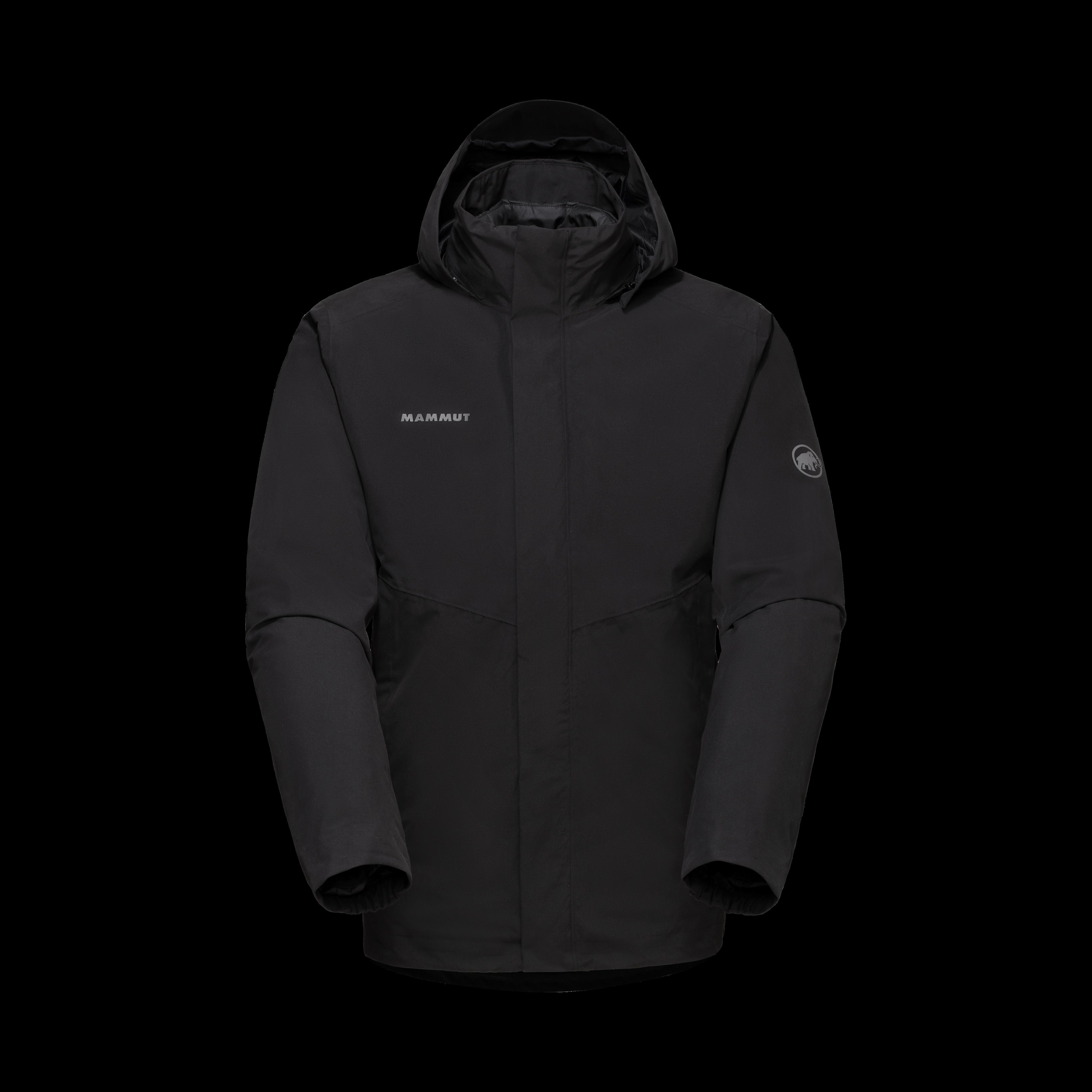 Trovat 3 in 1 HS Hooded Jacket Men - black-black, S thumbnail